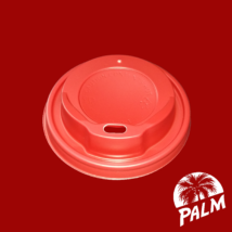 Tető ivólyukkal (piros) - Ø 80mm