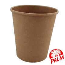 Papír leveses tál (kraft) - Ø 97 mm - 500 ml