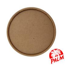 Papír tető zárt (kraft) - Ø 115 mm