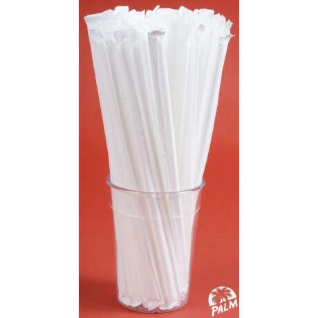 Csomagolt hajlítható szívószál (papír)