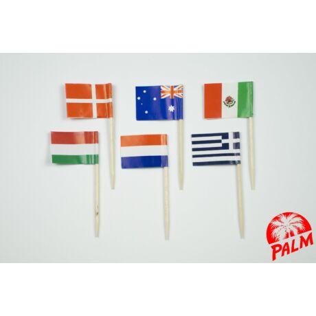 Vegyes zászló pálcika
