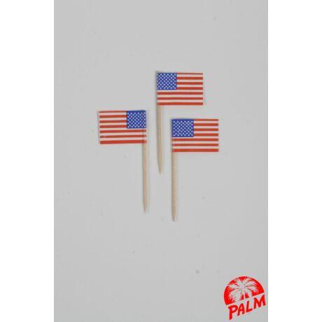 USA zászló pálcika