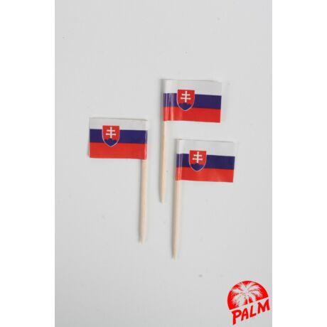 Szlovák zászló pálcika