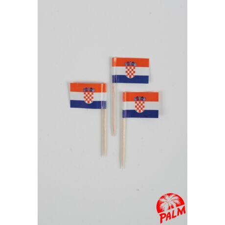Horvát zászló pálcika
