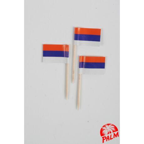 Szerb zászló pálcika