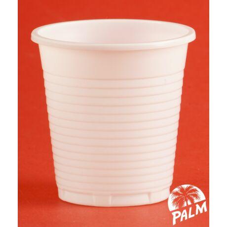 Műanyag pohár - 1 dl