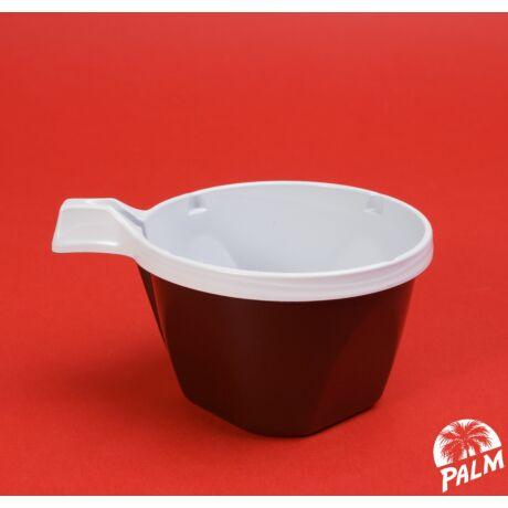 Műanyag füles kávéspohár - 1,5 dl