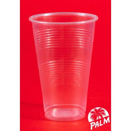 Műanyag pohár - 3 dl