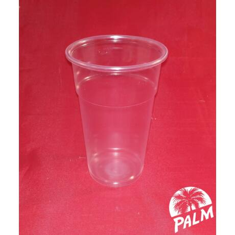 Műanyag pohár - 3 dl sima falú
