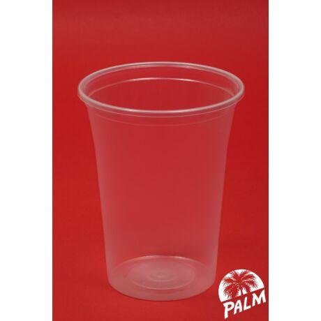 Műanyag (sörös) pohár - 4 dl
