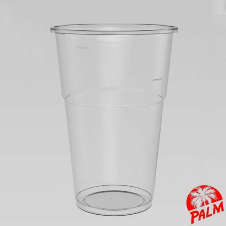 Műanyag pohár - 5 dl sima falú