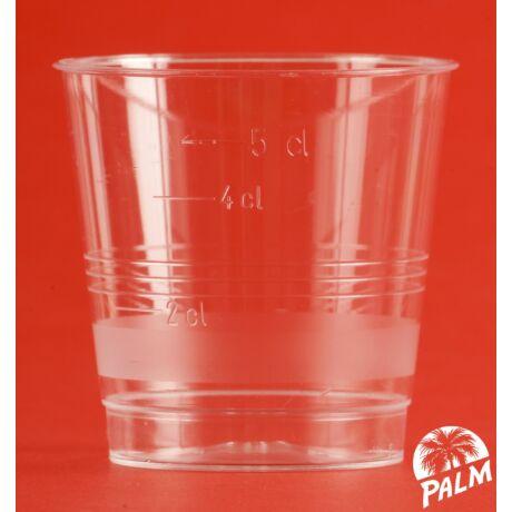 Pálinkás (snapszos) pohár - 5 cl