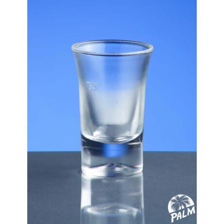 Pálinkás (snapszos) pohár - 2 cl