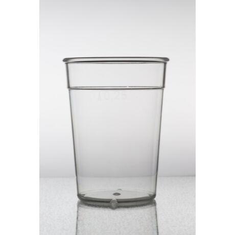 Pohár - többcélú - 2,5 dl