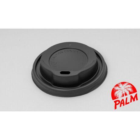 Tető ivólyukkal (fekete) - Ø 80mm