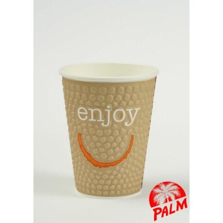 Hőtartó papírpohár (Enjoy) - Ø 90 mm - 3 dl