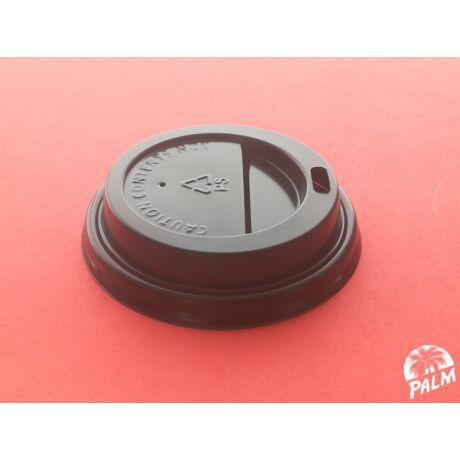 Tető ivólyukkal (fekete) - Ø 70 mm