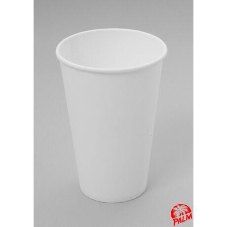 Papírpohár (fehér) - Ø 80 mm - 3 dl