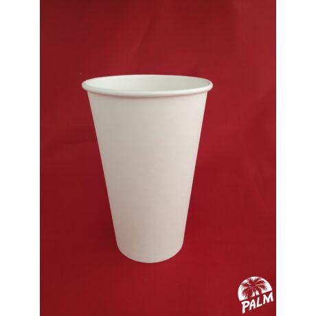Papírpohár (fehér) - Ø 90 mm - 5 dl