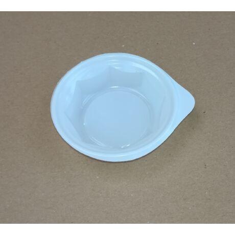 Szószos tál - fehér - 25 ml