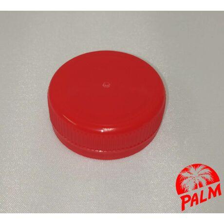 Kupak műanyag palackhoz (piros) - Ø 38 mm