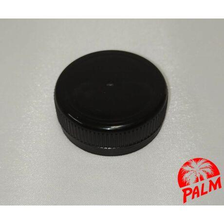 Kupak műanyag palackhoz (fekete) - Ø 38 mm