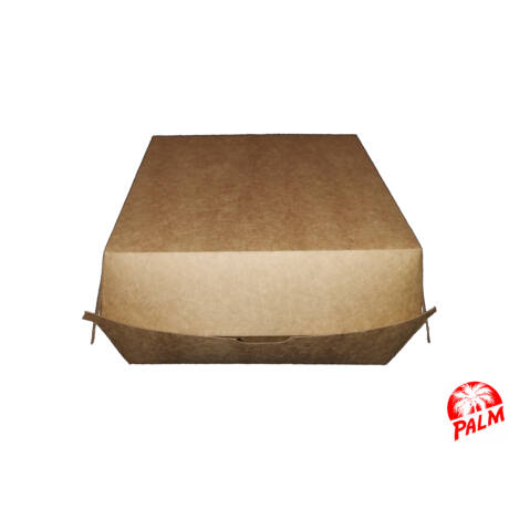 Hamburger doboz - 16 x 16 x 9 cm
