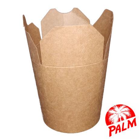 Papír tésztás doboz (kraft) - 500 ml
