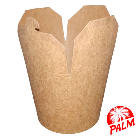 Papír tésztás doboz (kraft) - 750 ml