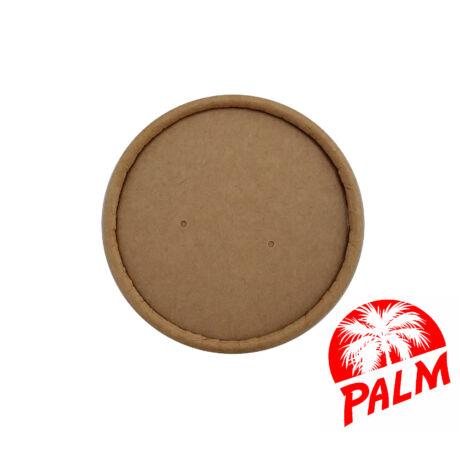 Papír tető zárt (kraft) - Ø 90 mm