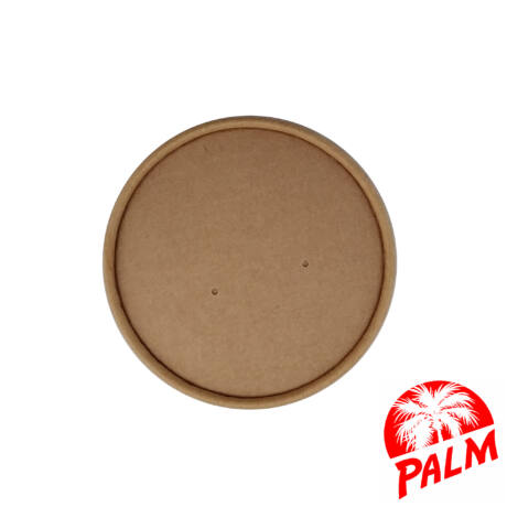 Papír tető zárt (kraft) - Ø 97 mm